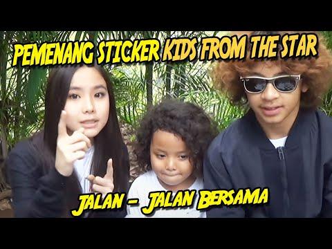 Pemenang Sticker Kids From The Star Jalan - Jalan Bersama