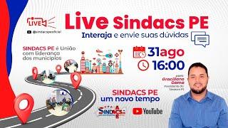 LIVE SINDACS PE - 31/08/2021