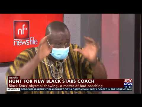 Hunt for new Black Stars coach: There is no uniformity in the FA as we speak - Karl Tufuoh