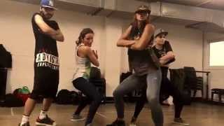 "Bunji Garlin ""Gi Dem Dey"" Ragga Dancehall Choreography by Alicja Blachut 