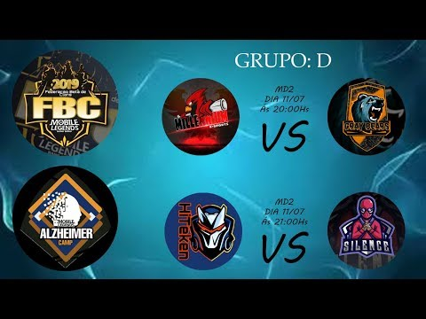 Alzheimer Camp 2019! Grupo D: Segunda Rodada - [GB - Gray Bears] VS [ML - Millenium] - Pt1