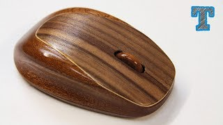 Make a Wireless Wooden Computer Mouse