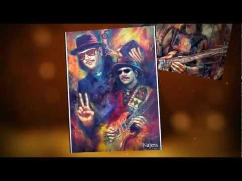 Carlos Santana Europa  Miguel Najera Artist