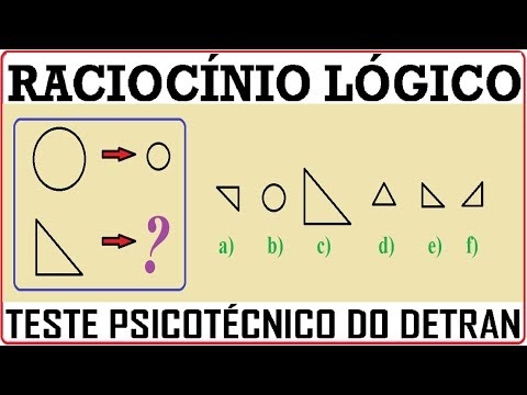 Raciocínio Lógico Figuras Sequências Psicotécnicos QI Quociente de Inteligência Detran Concursos RLM de YouTube · Duração:  5 minutos 21 segundos