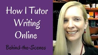 Do you want to know why tutoring write online is better than writing in person? see this behind-the-scenes look at how i tutor online. i'll ...