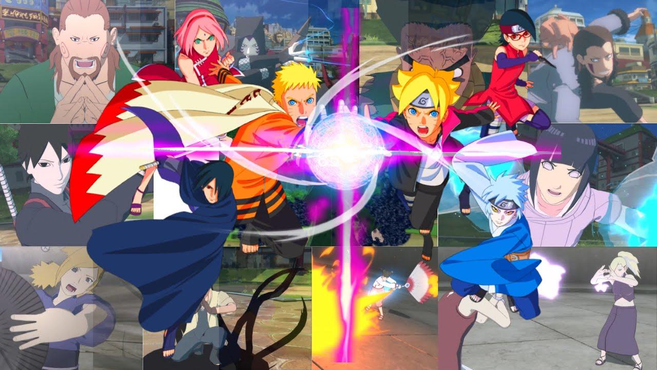 All New Naruto Next Generations DLC Ultimate Jutsu | Naruto Storm 4: Road to Boruto Nintendo Switch