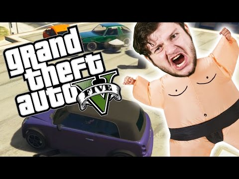GTA 5 PC Online Funny Moments - THE PURPLE...