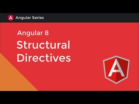 Angular 8 Tutorial [3] - Structural Directives thumbnail