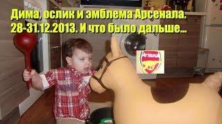 Дима, ослик и эмблема Арсенала. 28-31.12.2013. И что было дальше...