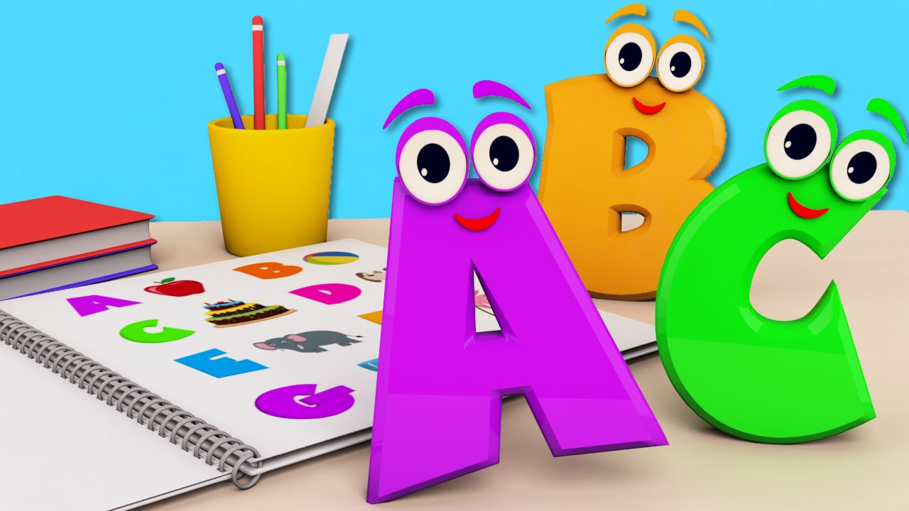 ABC Song | Learn Alphabets | Songs For Kids | Nursery Rhymes For ...