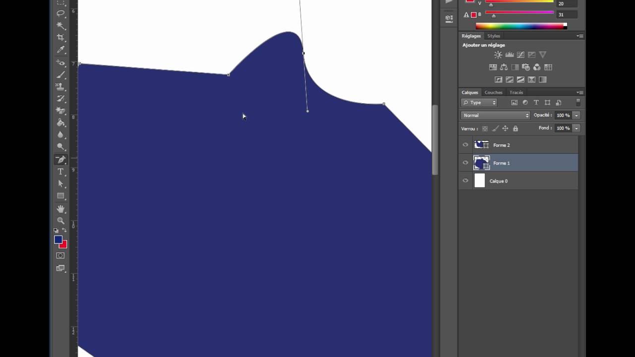 outil forme personnalisée photoshop cs6
