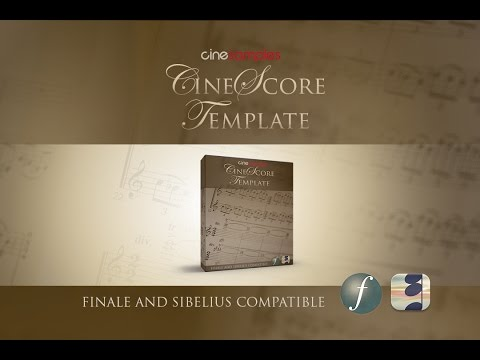 Cinesamples CineScore Template Walkthrough