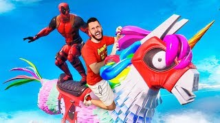 JUGANDO CON DEADPOOL EN FORTNITE - TheGrefg