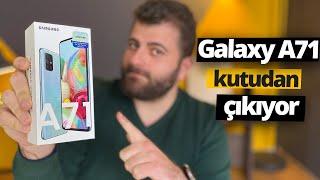 Samsung Galaxy A71 kutudan çıkıyor - Orta segment karışacak