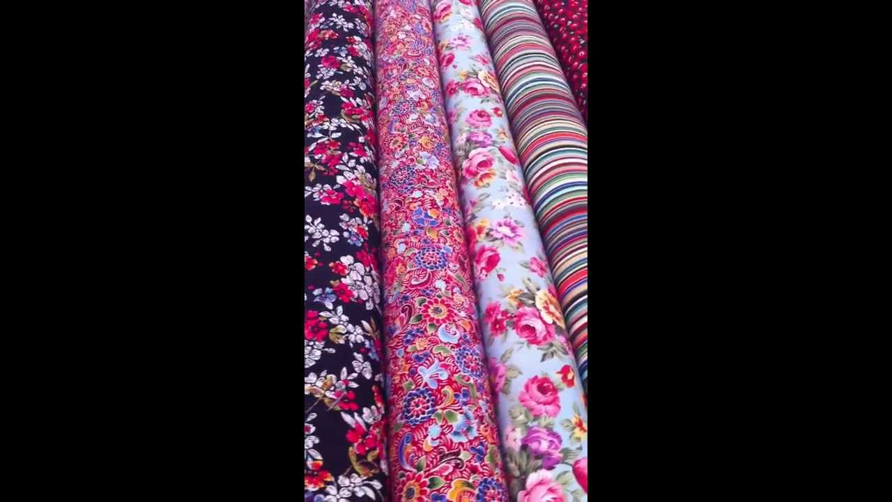 New Cotton Poplin Fabrics By Croftmillfabric