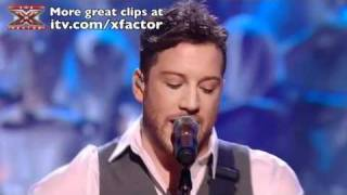 Matt Cardle sings Here With Me - The X Factor Live Final - itv.com/xfactor