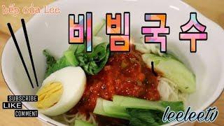 비빔국수_ Mì Bibimb_ Leelee