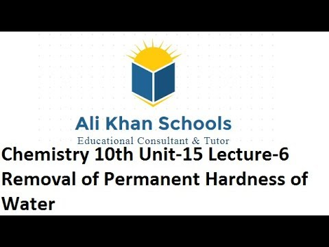 removal of permanent hardness