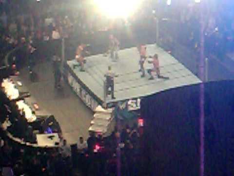 Ending of Vladimir Kozlov vs. Triple H vs. Edge at Survivor Series