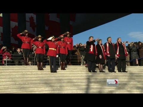 Global National - Obama inauguration day at Canadian embassy