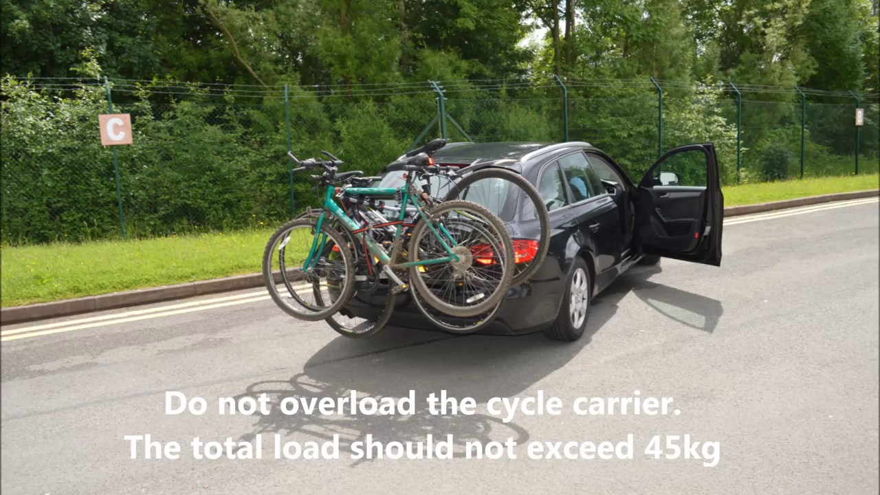 RENAULT MEGANE ALL MODELS 2 BICYCLE REAR MOUNT CARRIER CAR RACK BIKE CYCLE