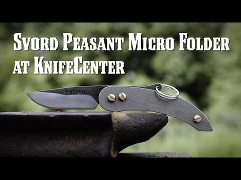 Svord Peasant Micro Folder at KnifeCenter
