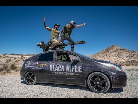 We Put a Vulcan Cannon On a Prius.