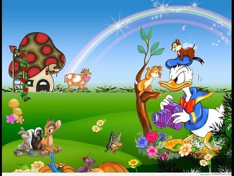 Hoạt hình vịt Donald và 2 chú Sóc Bay - Kênh Mẹ và Bé