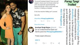 #ParagTyagiNallaHai Trending On Twitter | Parag Tyagi Vs Asim Riaz Fans