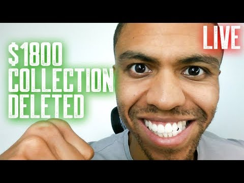 $1800 COLLECTION DELETED || SECRETS TO LATE PAYMENT REMOVALS || STUDENT LOAN REMOVALS