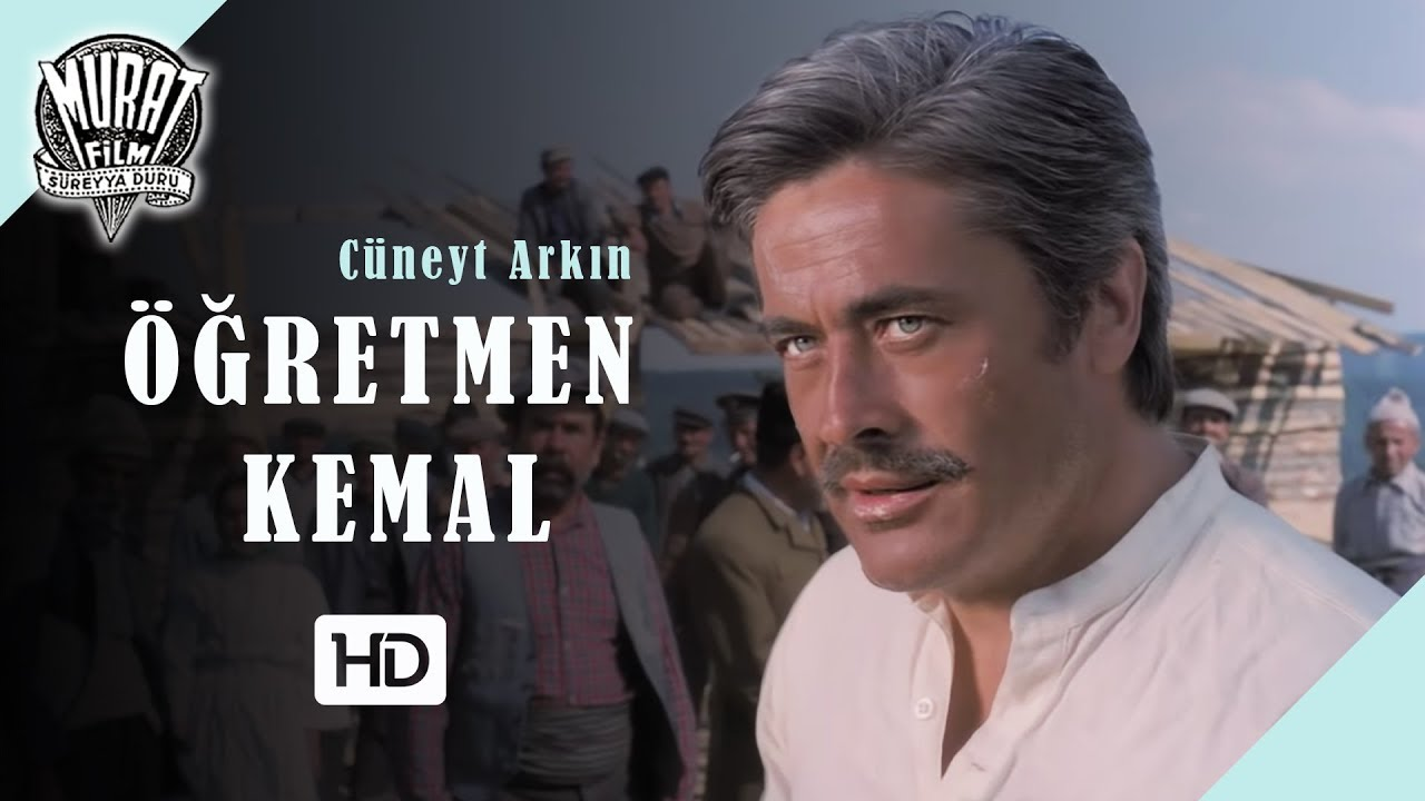 Öğretmen Kemal - Cüneyt Arkın | FULL HD