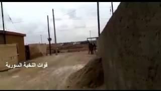 قوات النخبة السورية تدخل مدينة الكرامة معقل داعش