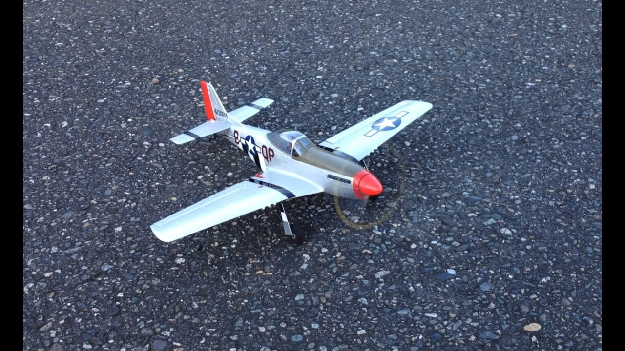 Scale Flying with the Parkzone Ultra Micro P-51 Mustang Warbird RC Plane  BNF with AS3X Technology