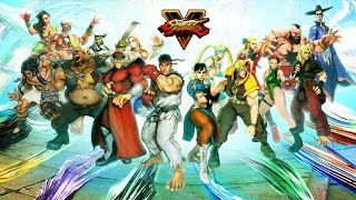 Street Fighter 5 - Game Modes Trailer @ 1080p (60fps) HD ✔