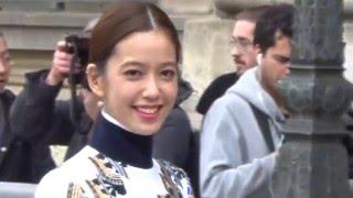 Annie CHEN 陳庭妮 @ Paris Fashion Week 4 march 2016 show Dior - mars