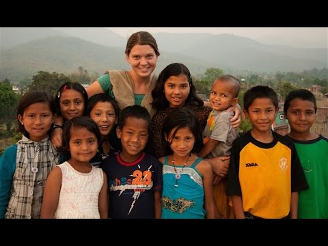The Most Amazing Woman in the World: Maggie Doyne!