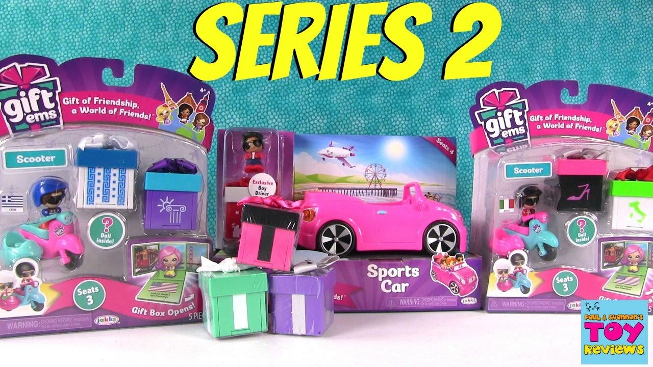 Gift Ems Series 2 Scooter Sports Car Playset 1 Blind Box
