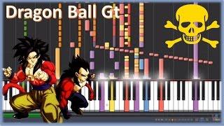Mi Corazón Encantado - Dragon Ball Gt - Versión Imposible de Piano
