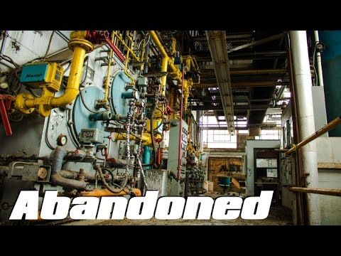ABANDONED Large Coal Power Plant - heavily decayed !