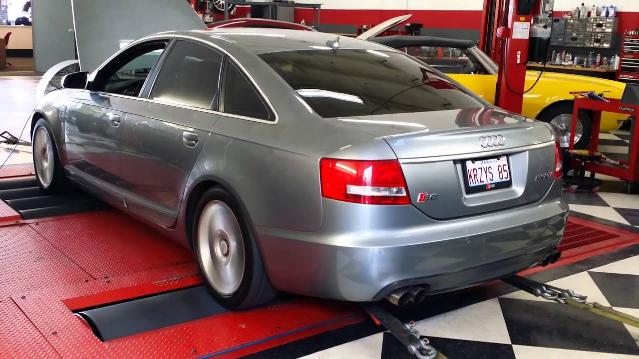 audi s6 v10 5 2l c6 dyno at komet motorsports youtube. Black Bedroom Furniture Sets. Home Design Ideas