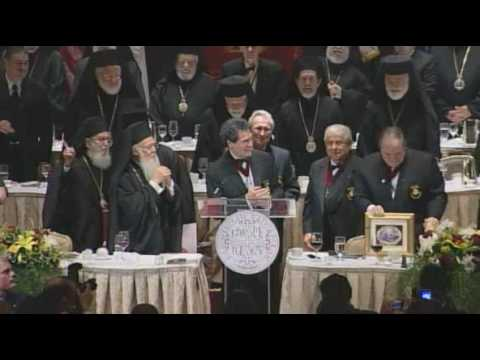 Banquet Hosted by the Order of Saint Andrew in Honor of Ecumenical Patriarch Bartholomew