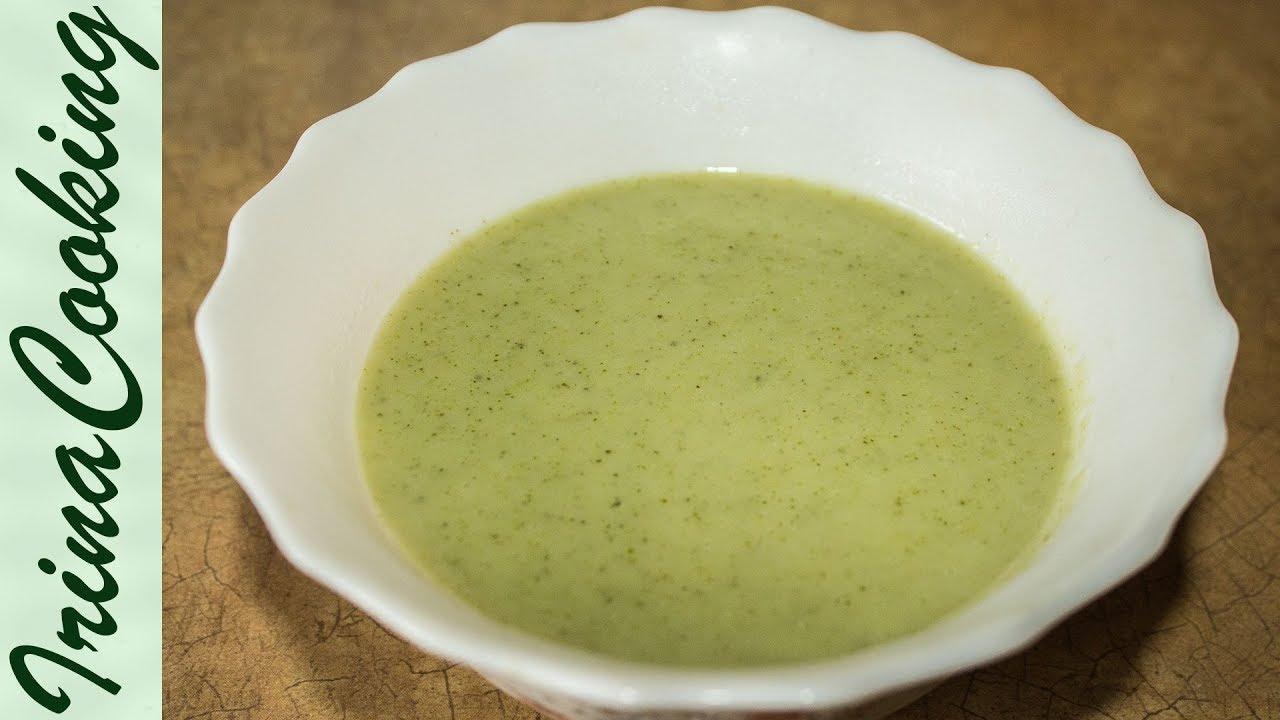 суп пюре из брокколи рецепт диетический