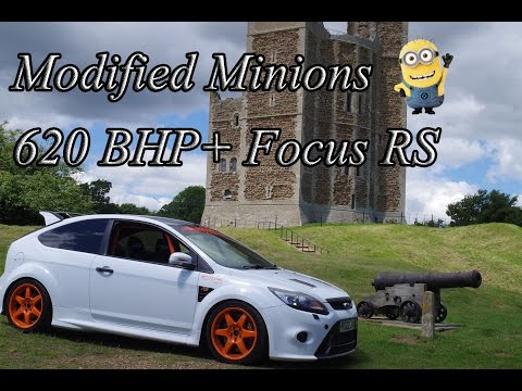 Modified Ford Focus RS aka Tornado 635 BHP - Modified Minions Episode 1 Modified Car Review Tornado