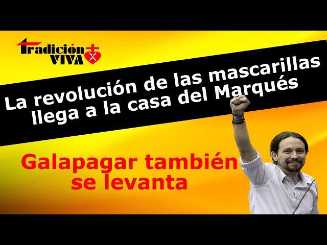 La revolución de las mascarillas llega a Galapagar #GobiernoDimision