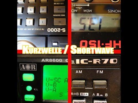 Empfangsvergleich Radio Havana Cuba 6060 khz - 4 Kurzwellenempfänger shortwave
