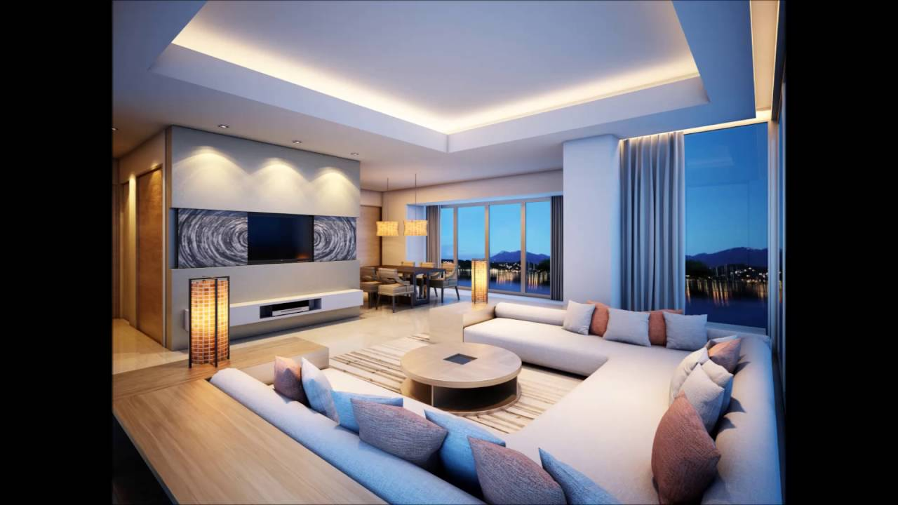 White Luxury Dream Living Room For Dream Home Ideas - YouTube