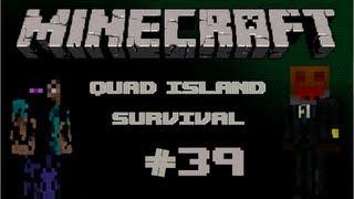 Minecraft: Quad Mountain Survival W/ Conart&Flyinpie Ep.39: Slowly But Surely