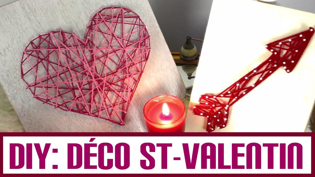 Tutoriel diy d co st valentin avec lie duquet youtube - Deco vitrine saint valentin ...
