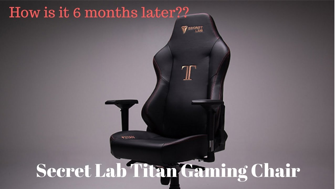 6 Months Later - Secret Lab Titan Gaming Chair Review - Armrest Fix & Noise