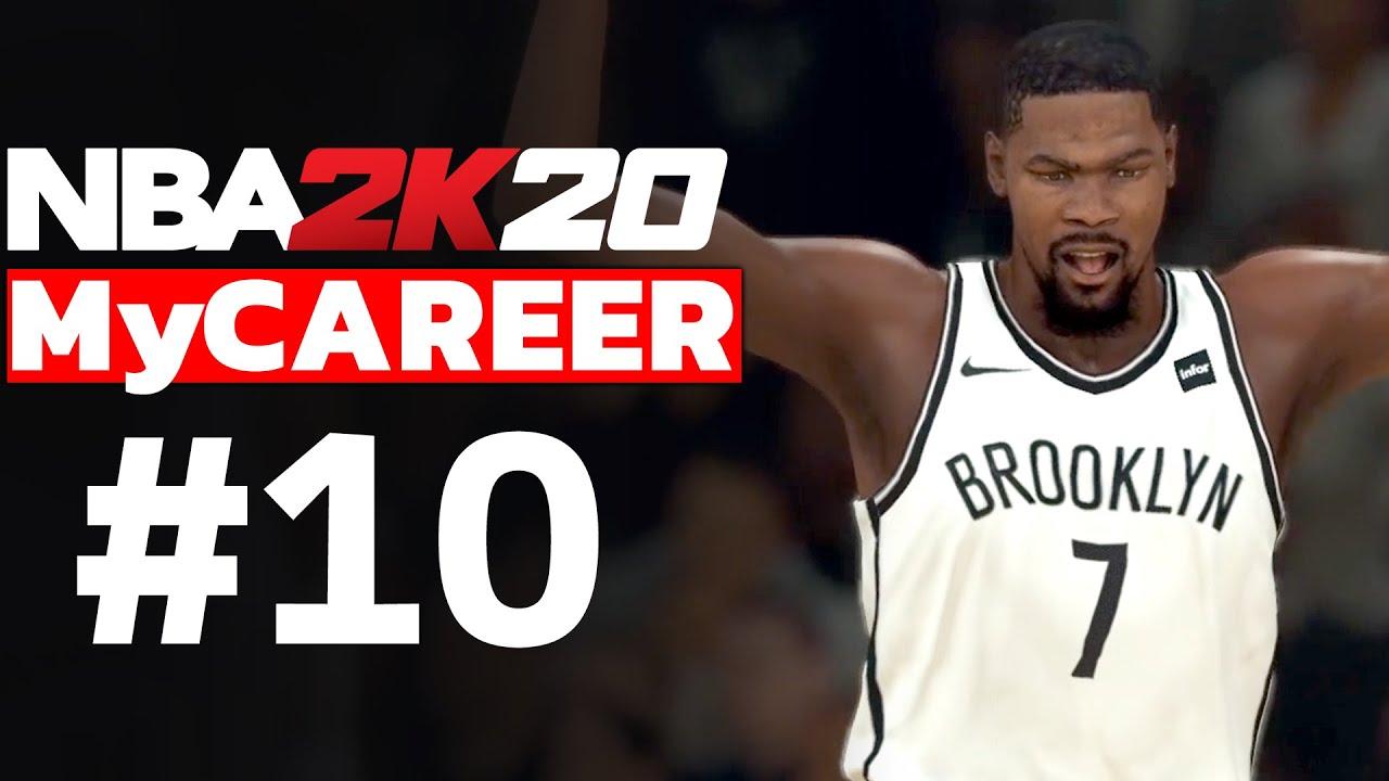 NBA 2K20 MyCAREER TÜRKÇE #10 // YILAN DURANT TISSS!!! NEFES KESEN SON SANİYE BASKETİ!!